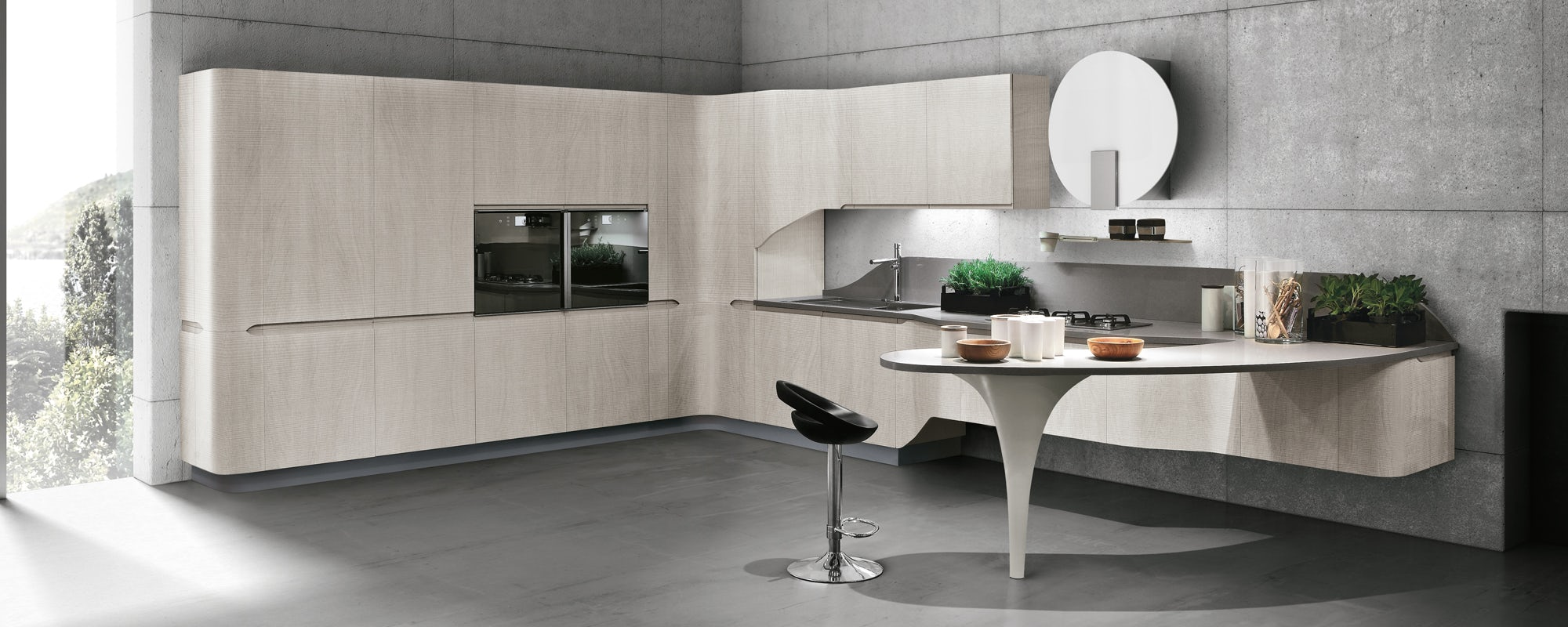 Stosa Cucine Zetadesign Arredamento Brescia Mobili Su Misura